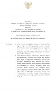 PERATURAN MENTERI KELAUTAN DAN PERIKANAN REPUBLIK INDONESIA NOMOR 13/PERMEN-KP/2018  TENTANG TUGAS BELAJAR BAGI PEGAWAI NEGERI SIPIL  DI LINGKUNGAN KEMENTERIAN KELAUTAN DAN PERIKANAN