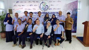 SINERGI UPT LINGKUP DALAM MENGINISISASI BANKGEN IKAN INDONESIA DAN  IFGEN ( INDONESIAN FISHERIES GENETIC NETWORK)